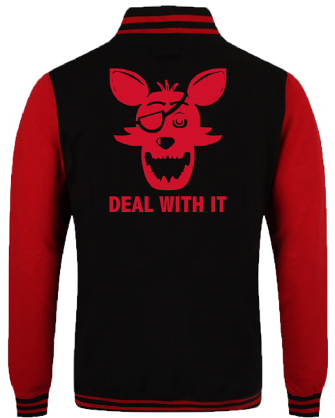 FNAF DEAL WITH IT VARSITY - INSPIRED BY FIVE NIGHTS AT FREDDYS